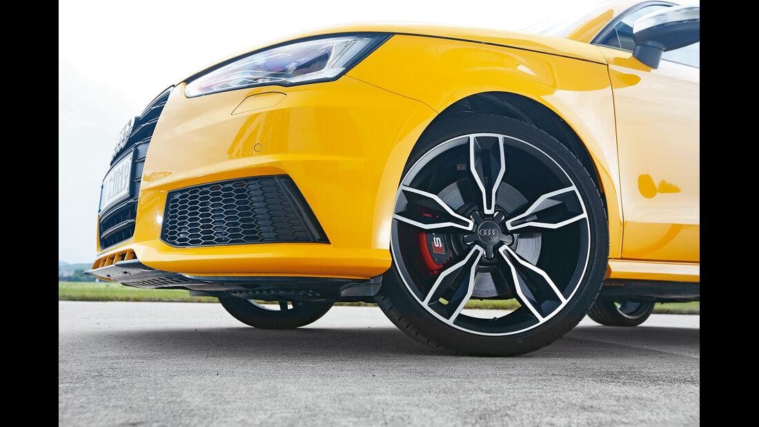 Audi S1, Rad, Felge, Bremse
