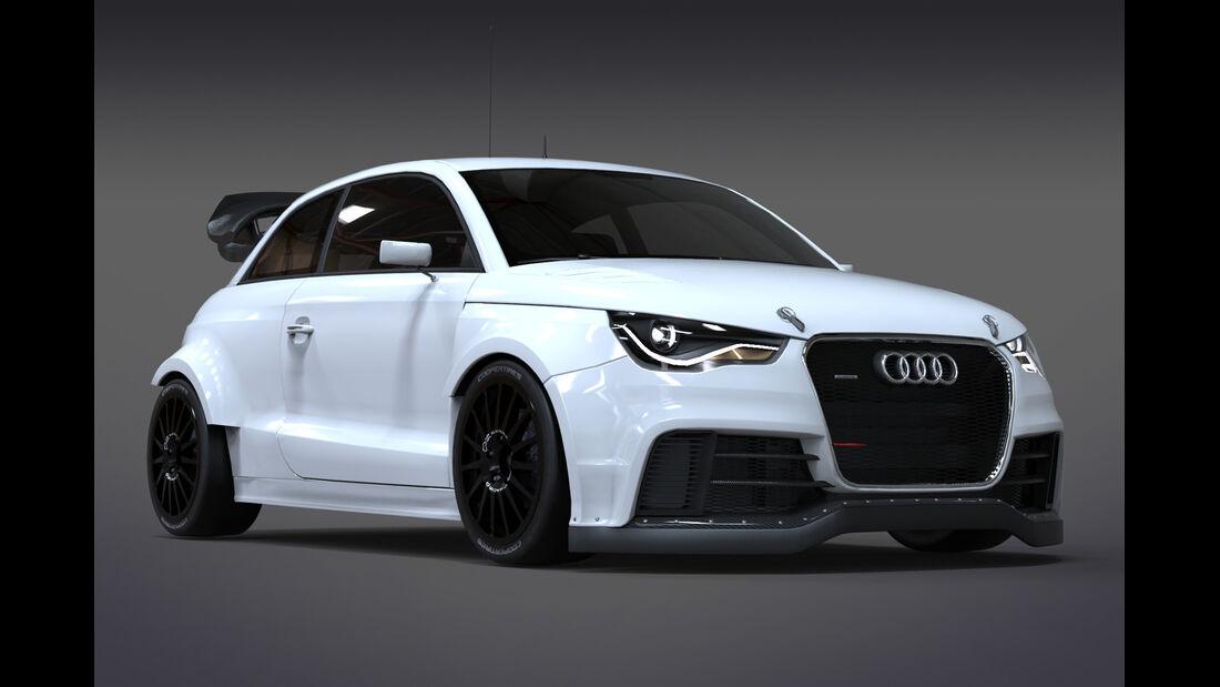 Audi S1 - RallyCross 2014