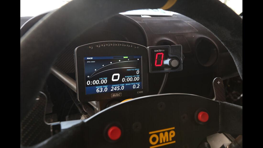 Audi S1 Rallycross, Anzeigeinstrumente