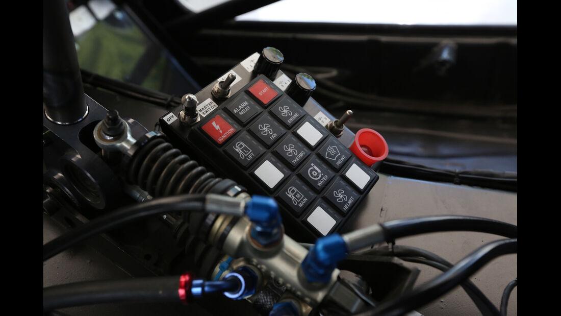 Audi S1 Rallycross, Bedienelemente