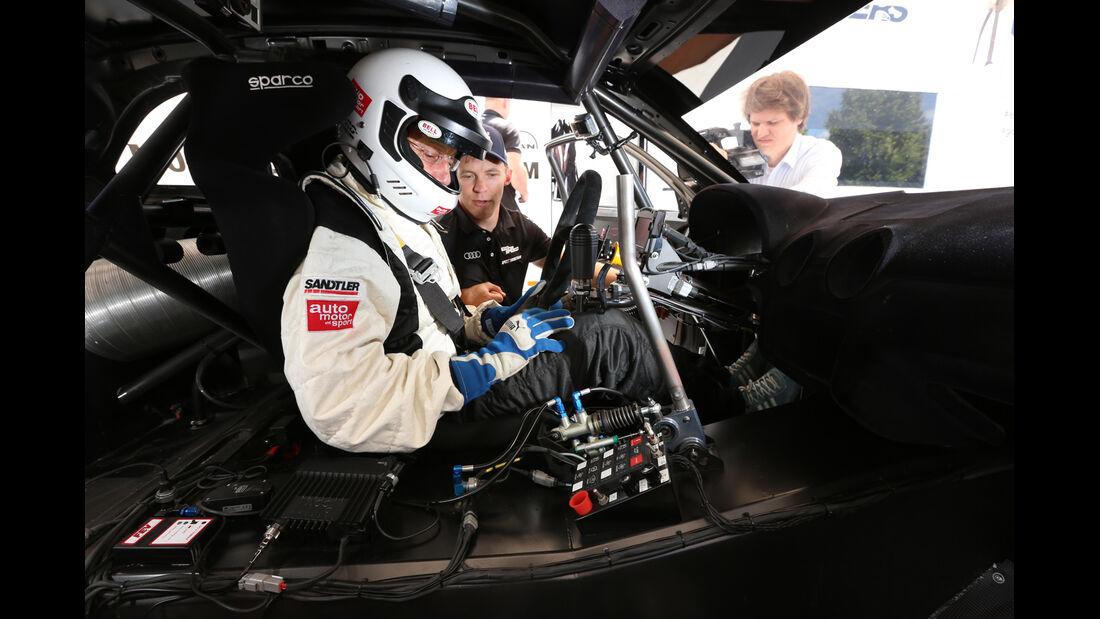 Audi S1 Rallycross, Cockpit