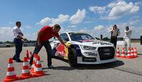 Audi S1 Rallycross, Frontansicht, Ekström