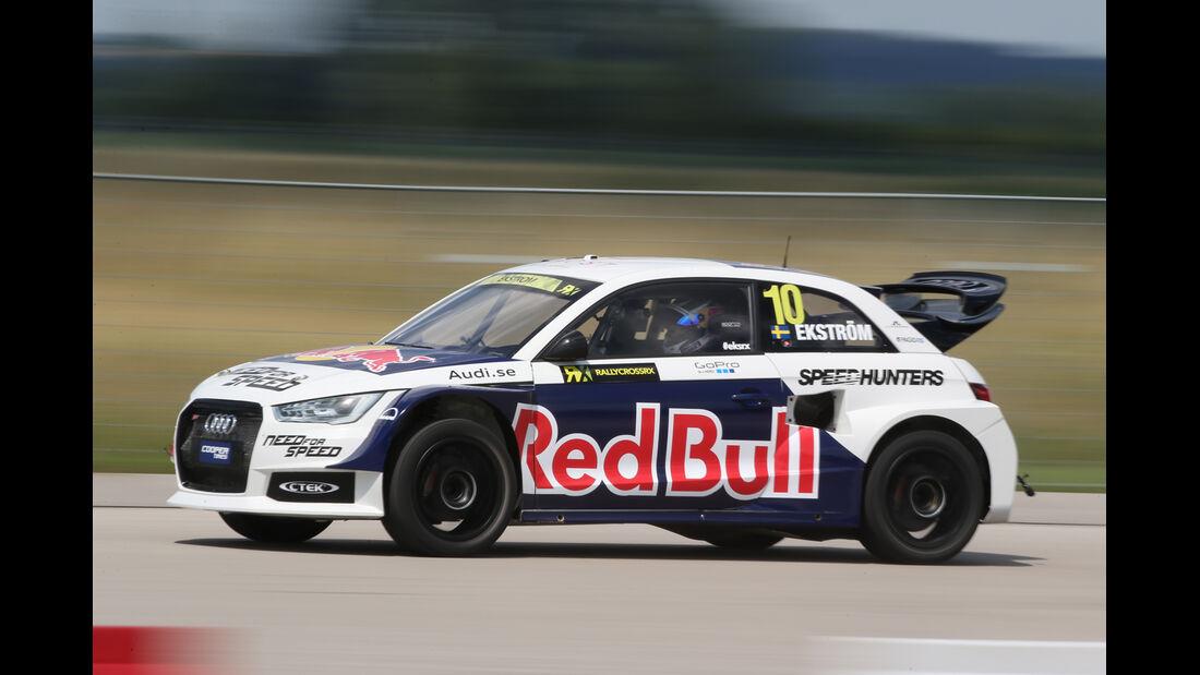 Audi S1 Rallycross, Seitenansicht
