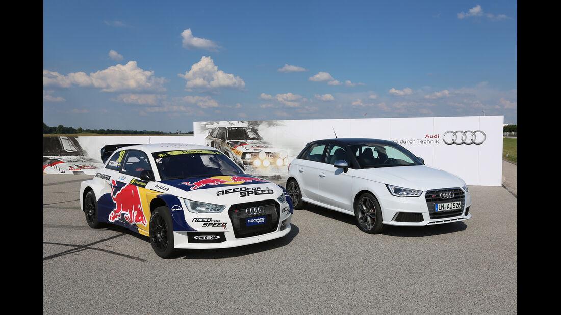 Audi S1 Rallycross, Straßenversion