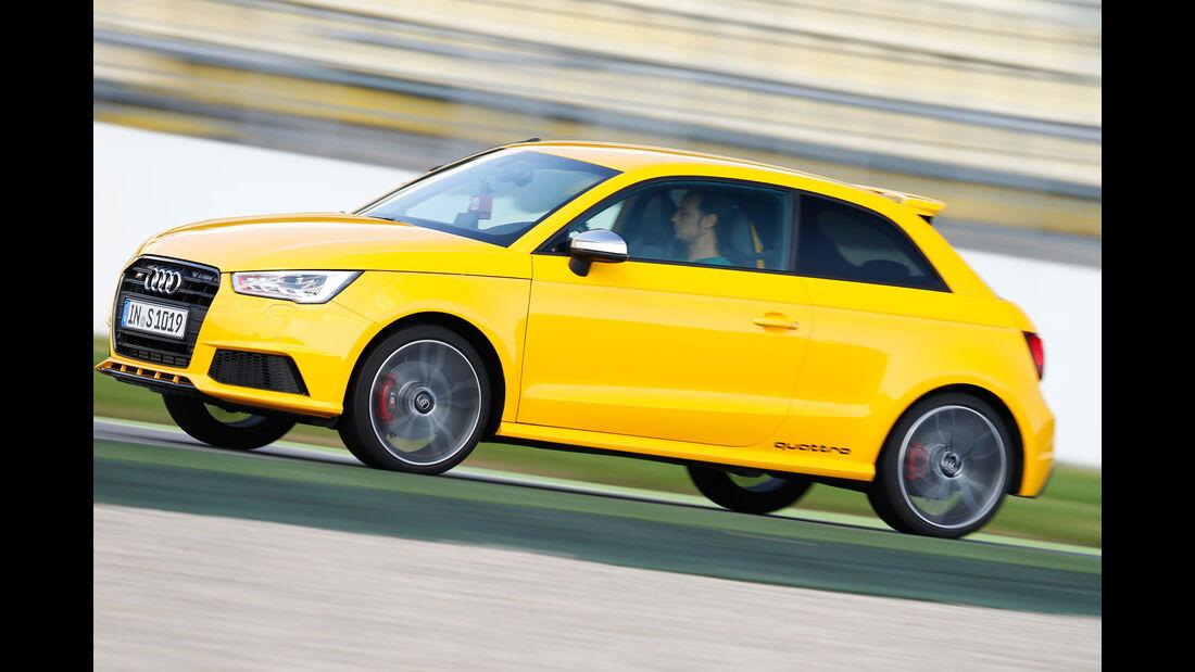 Audi S1, Seitenansicht