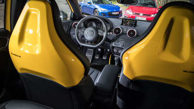 Audi S1 Sportback, Cockpit