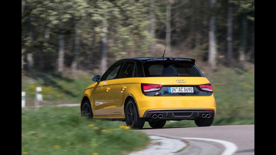 Audi S1 Sportback, Heckansicht