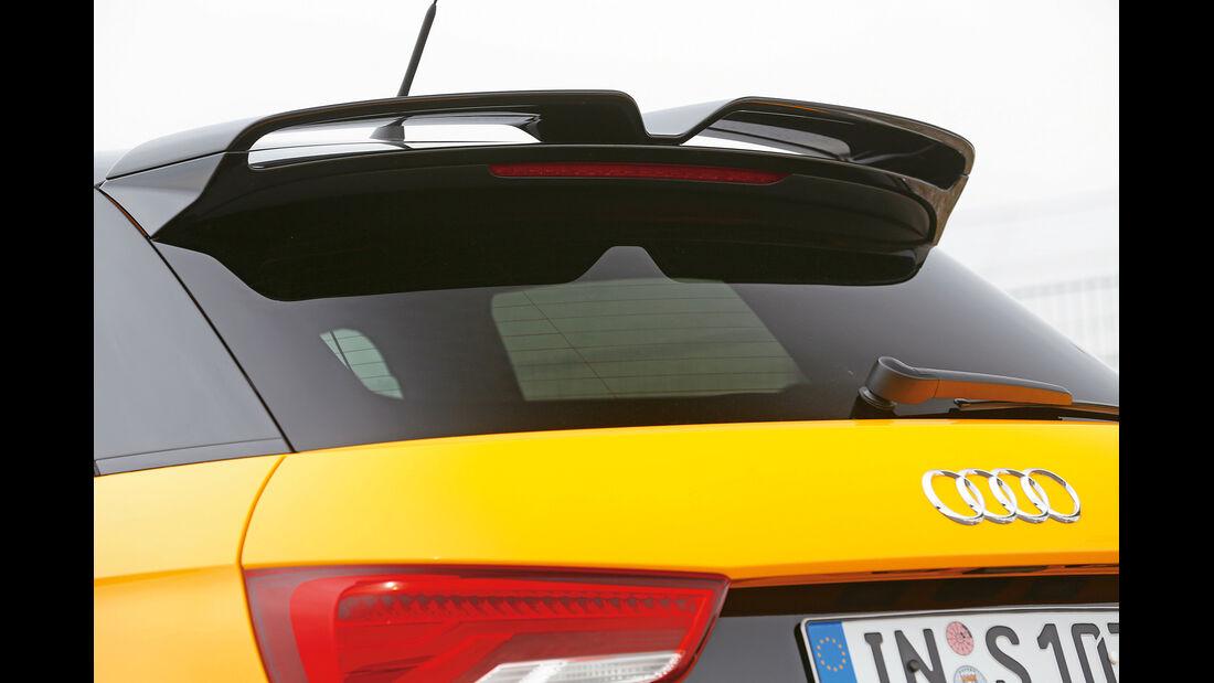 Audi S1 Sportback, Heckspoiler