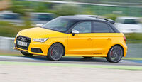 Audi S1 Sportback, Seitenansicht