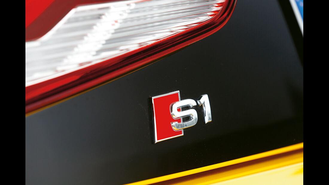 Audi S1 Sportback, Typenbezeichnung