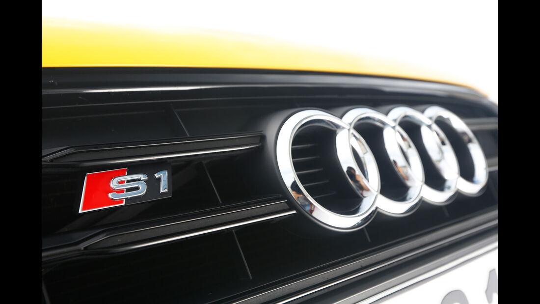 Audi S1, Typenbezeichnung, Kühlergrill