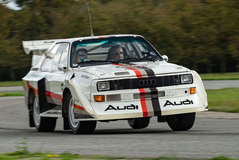 Audi S1Sport  Quattro Gruppe B Rallye (1988)