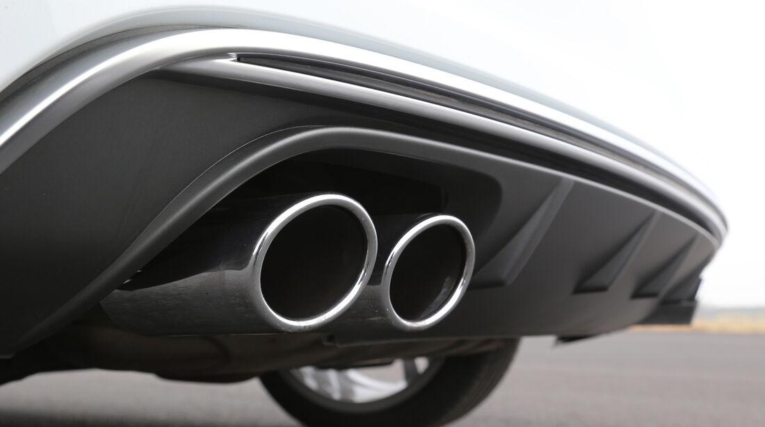 Audi S3 2.0 TFSI, Auspuff, Endrohre
