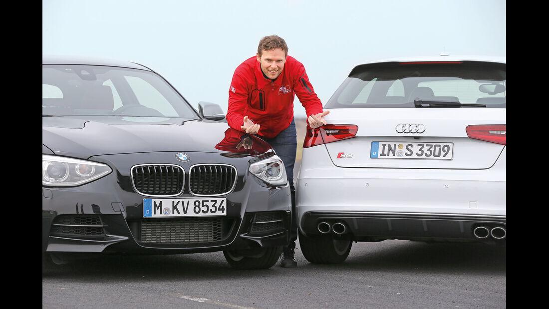Audi S3 2.0 TFSI, BMW M135i x-Drive, Alexander Bloch