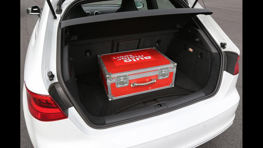 Audi S3 2.0 TFSI, Kofferraum