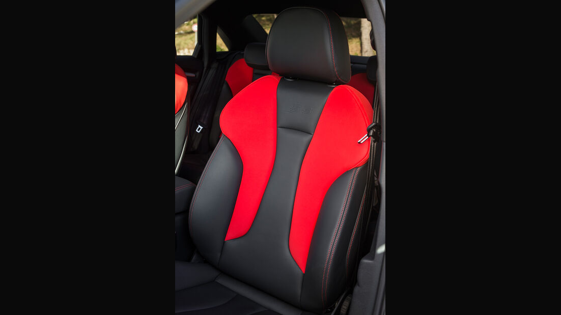 Audi S3 2.0 TFSI Quattro S tronic, Fahrersitz