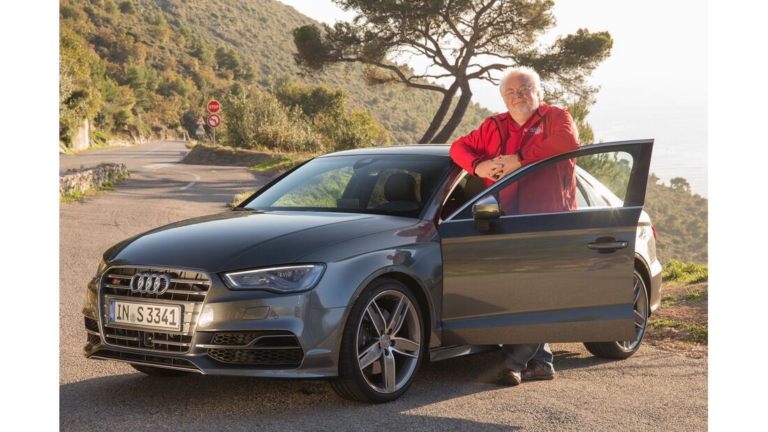 Audi S3 2.0 TFSI Quattro S tronic, Frontansicht, Malte Jürgens