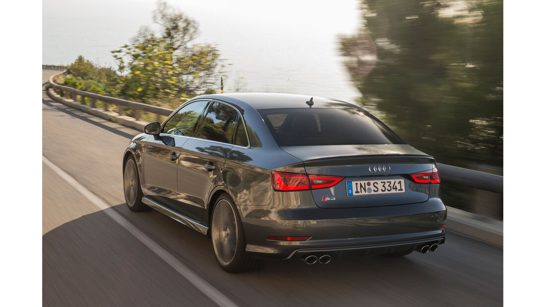 Audi S3 2.0 TFSI Quattro S tronic, Heckansicht