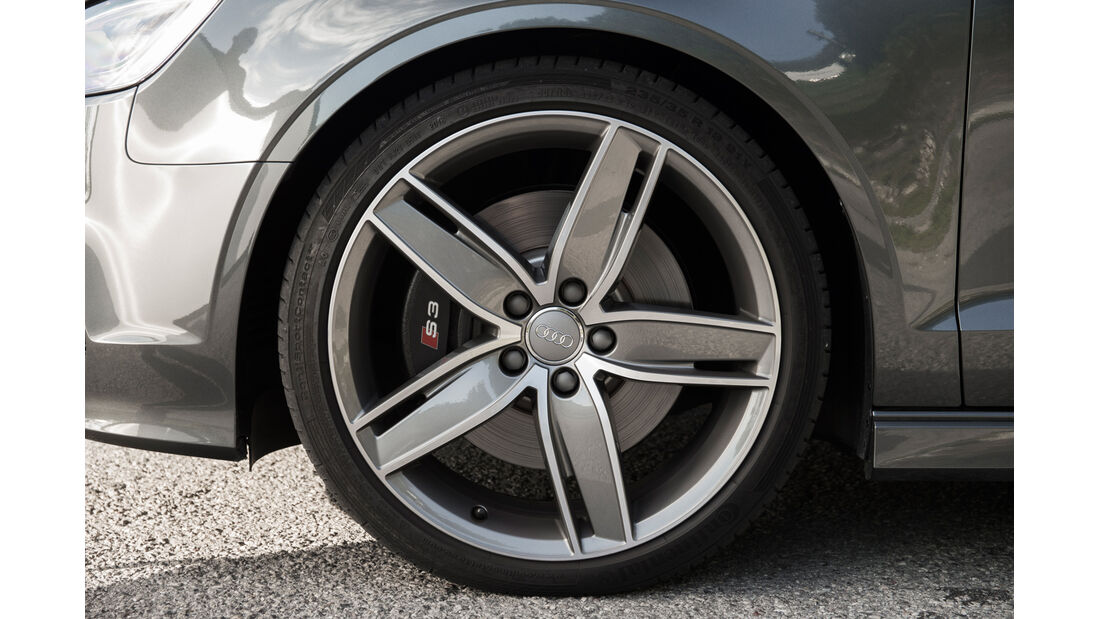 Audi S3 2.0 TFSI Quattro S tronic, Rad, Felge, Bremse