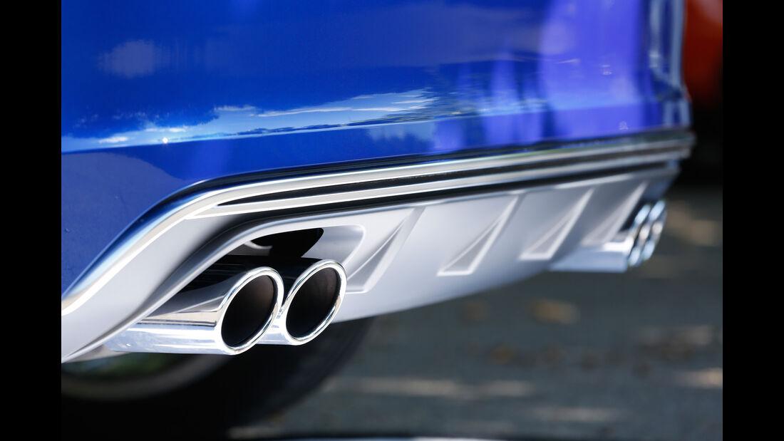 Audi S3, Auspuff, Endrohre