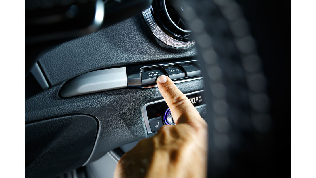 Audi S3, Bedienelement