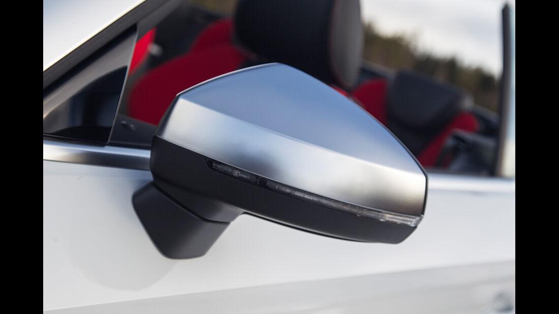 Audi S3 Cabrio, Außenspiegel