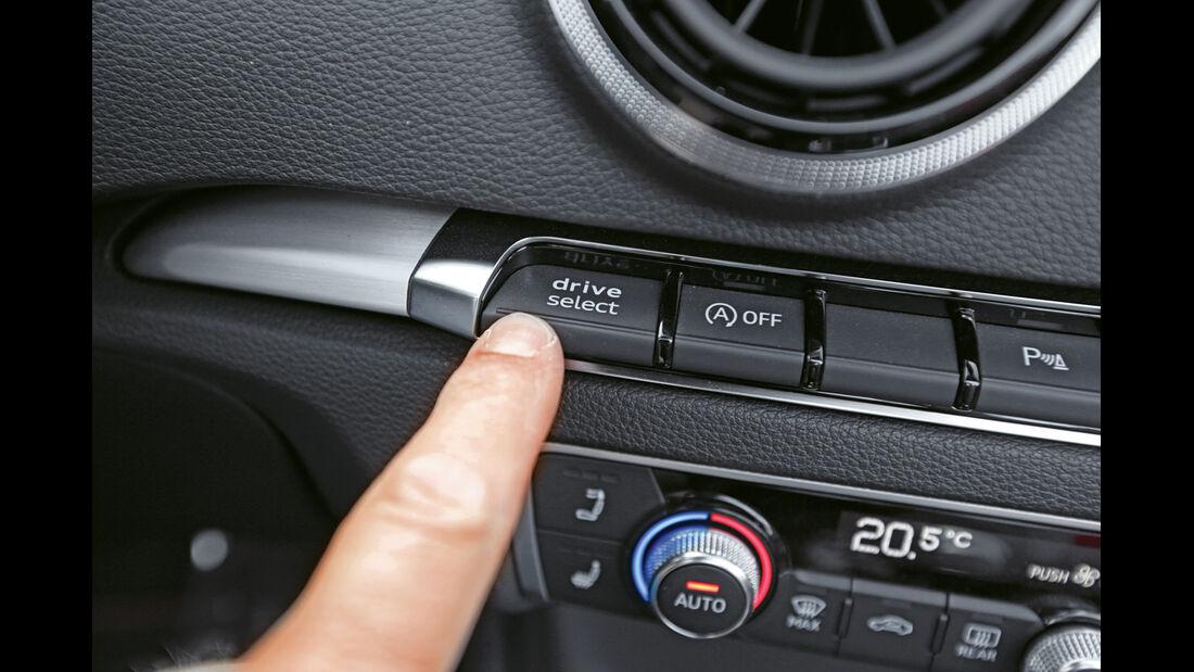 Audi S3 Cabrio, Bedienelement