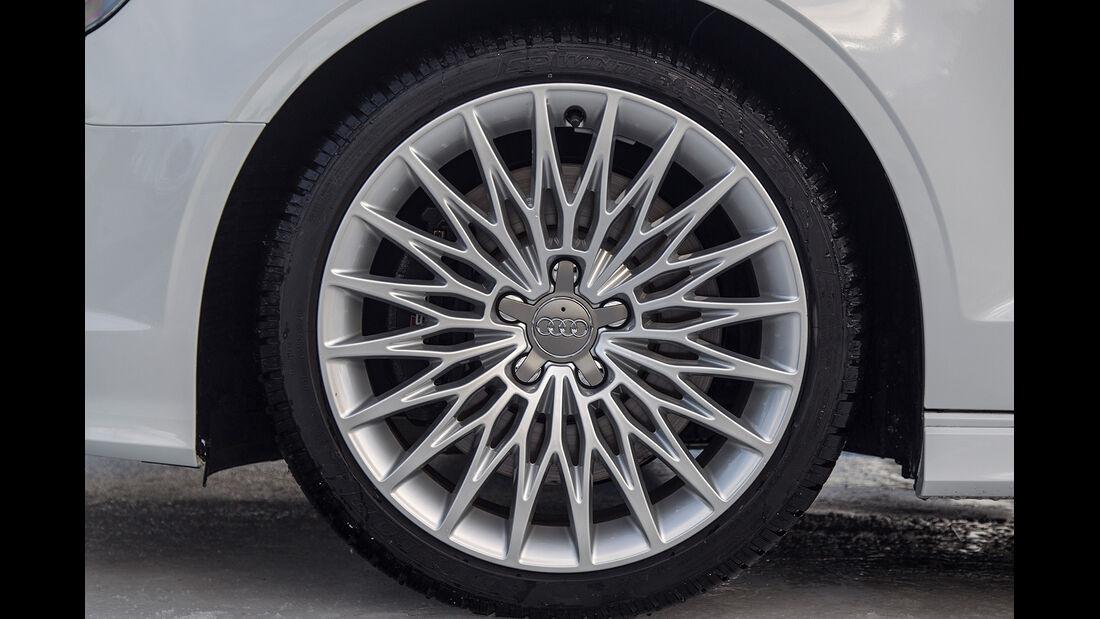 Audi S3 Cabrio, Felge