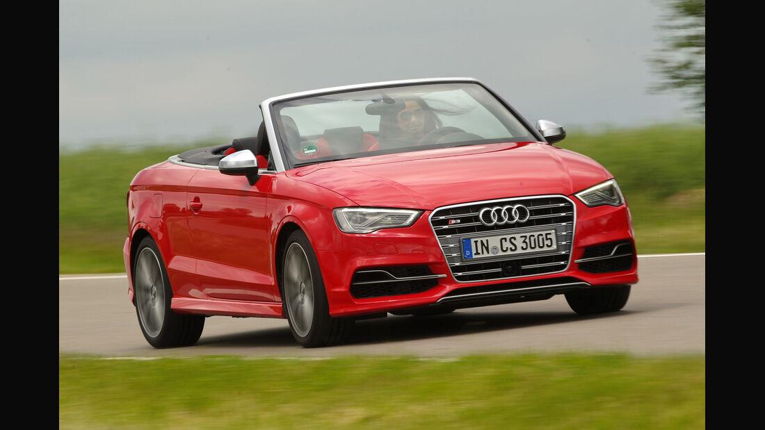 Audi S3 Cabrio, Frontansicht