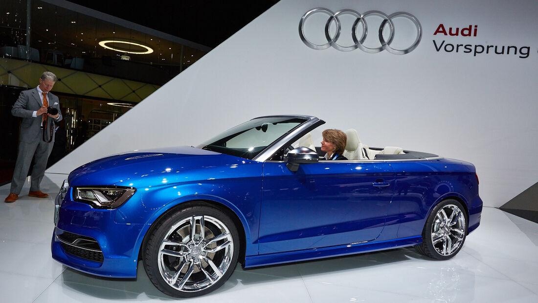 Audi S3 Cabrio, Genfer Autosalon, Messe, 2014, Genfer Autosalon, Messe, 2014