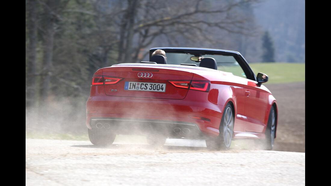 Audi S3 Cabrio, Heckansicht
