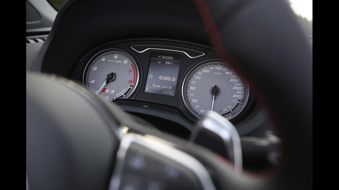 Audi S3 Cabrio, Rundinstrumente