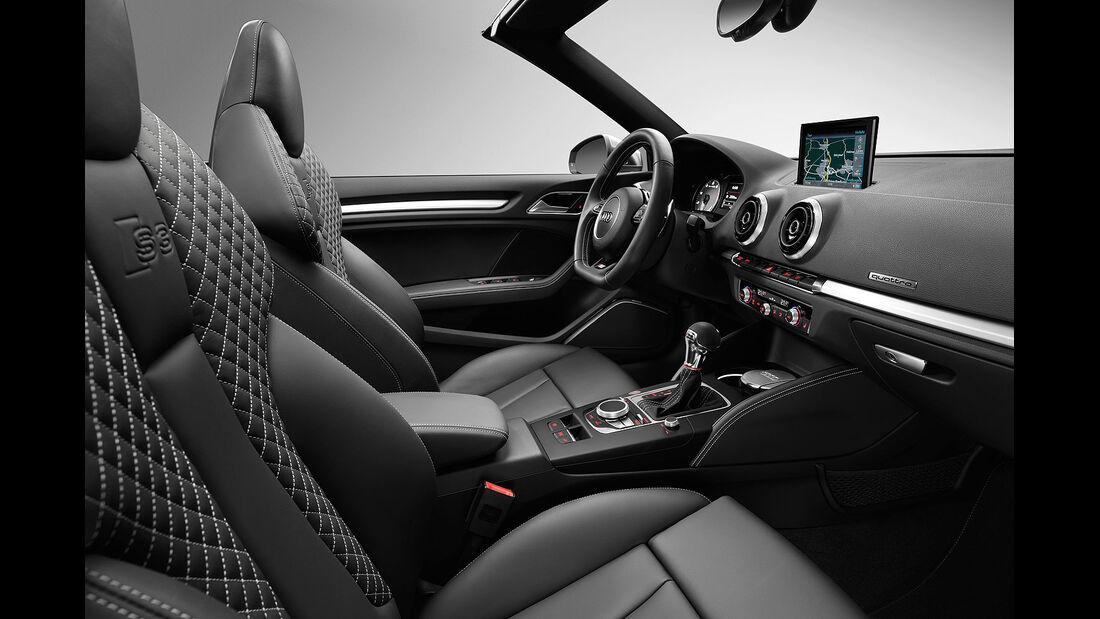 Audi S3 Cabrio Sperrfrist 19.02.2014 00.00 Uhr
