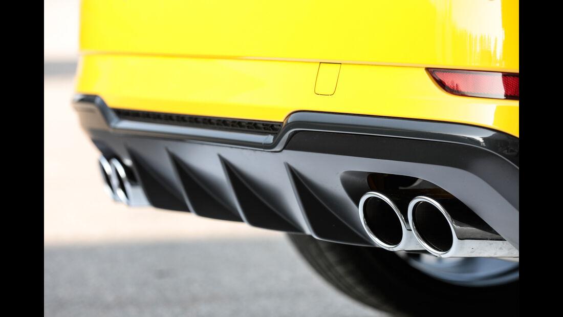Audi S3, Endrohre
