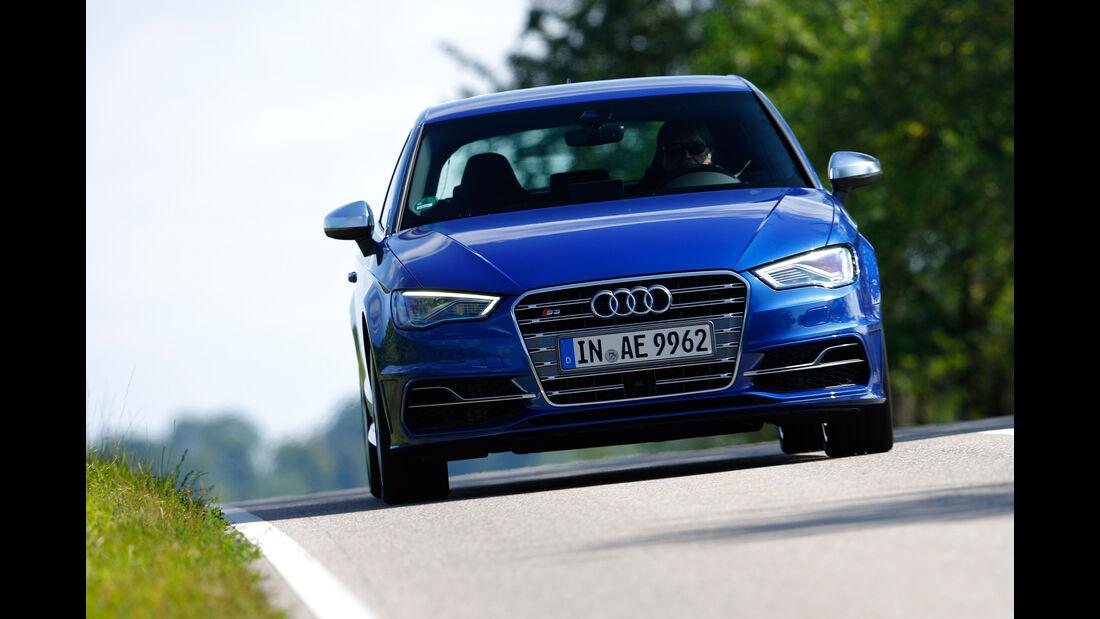 Audi S3, Frontansicht