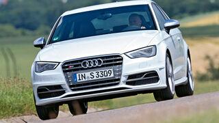 Audi S3. Frontansicht