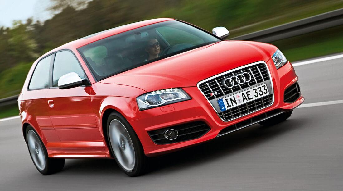 Audi S3, Frotansicht