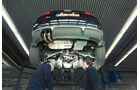 Audi S3, Hebebühne, Unterboden