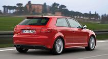 Audi S3, Heckansicht