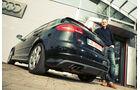 Audi S3, Hweckansicht