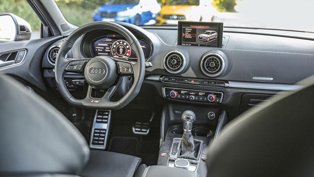 Audi S3, Interieur