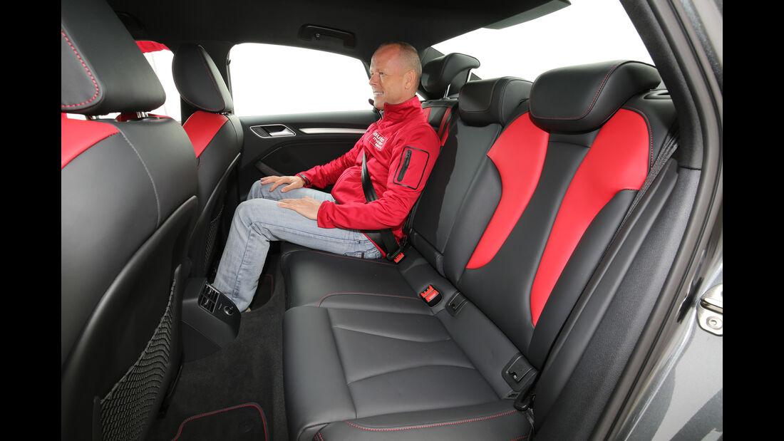 Audi S3 Limousine 2.0 TFSI Quattro, Fondsitze