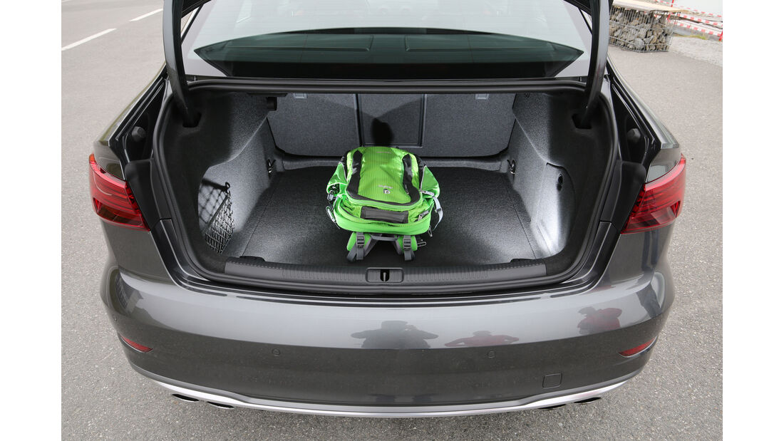 Audi S3 Limousine 2.0 TFSI Quattro, Kofferraum