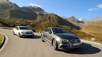 Audi S3 Limousine 2.0 TFSI Quattro, Mercedes-AMG CLA 45 4Matic