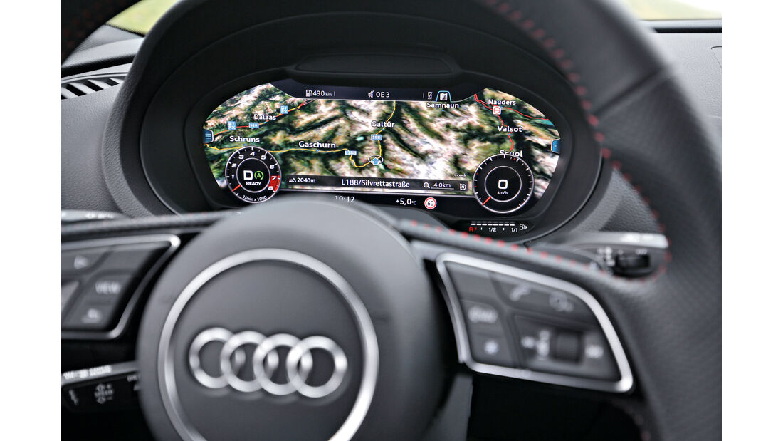 Audi S3 Limousine 2.0 TFSI Quattro, Navi