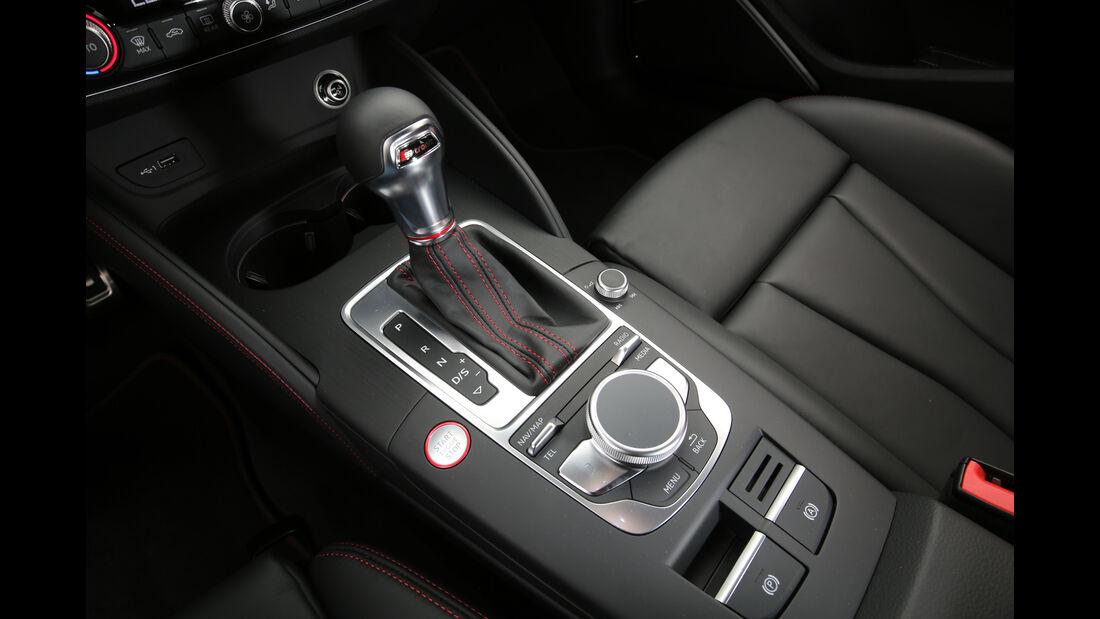 Audi S3 Limousine 2.0 TFSI Quattro, Schalthebel