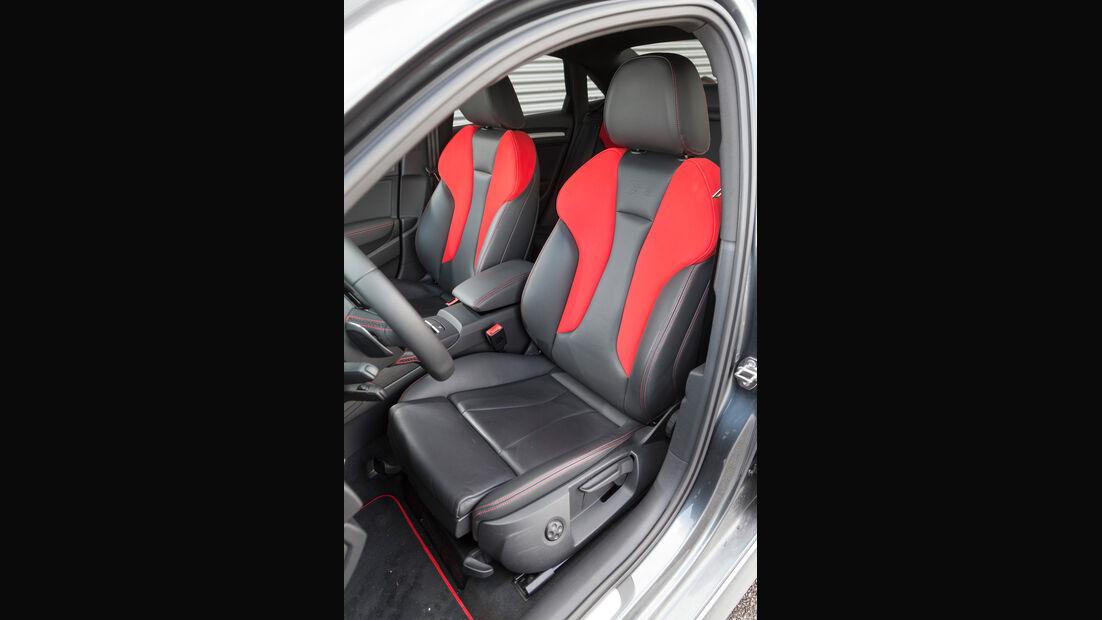 Audi S3 Limousine, Fahrersitz