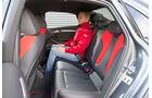 Audi S3 Limousine, Fondsitz