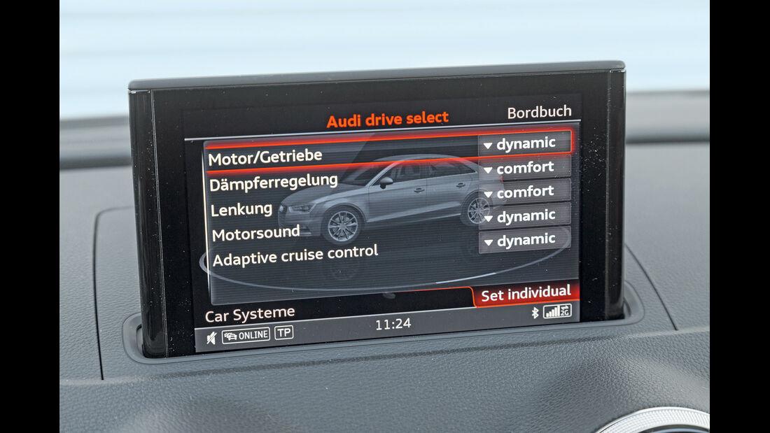 Audi S3 Limousine, Navi, Display