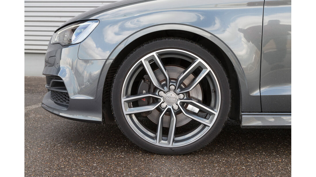 Audi S3 Limousine, Rad, Felge, Bremse